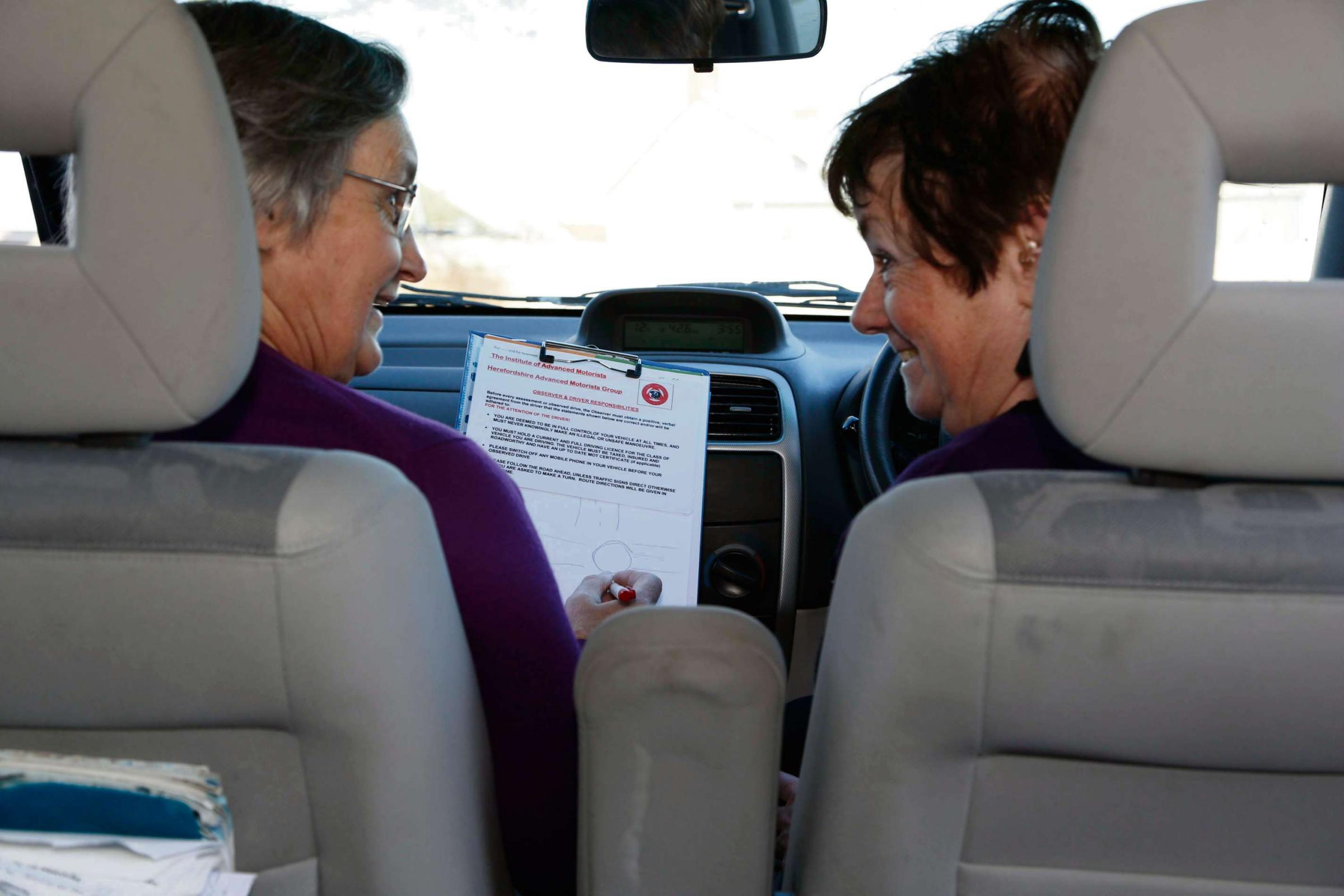 Older drivers are invites to refresh their skills at the Much Birch event.