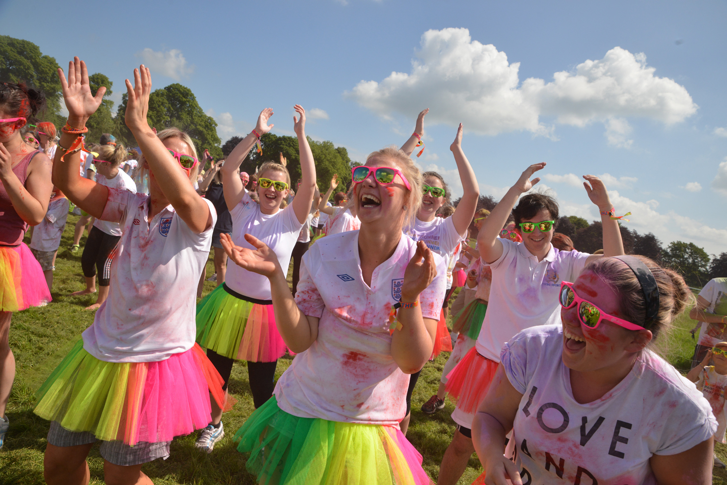 Thousands raised during colourful hospice fundraiser