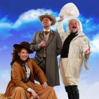 Hereford Times: Jason Donovan (centre) with his 'Annie Get Your Gun' co-stars Emma Williams and Norman Pace