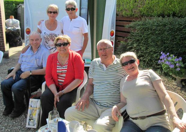 Six Saverne Twinners visiting Leominster