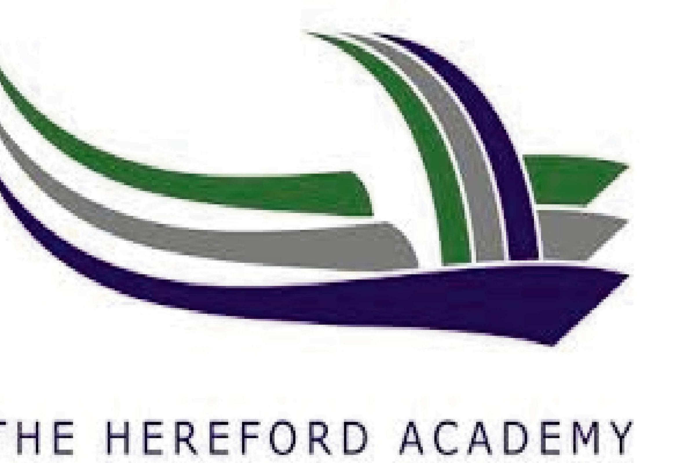 Hereford Academy's community learning centre will be re-locating.