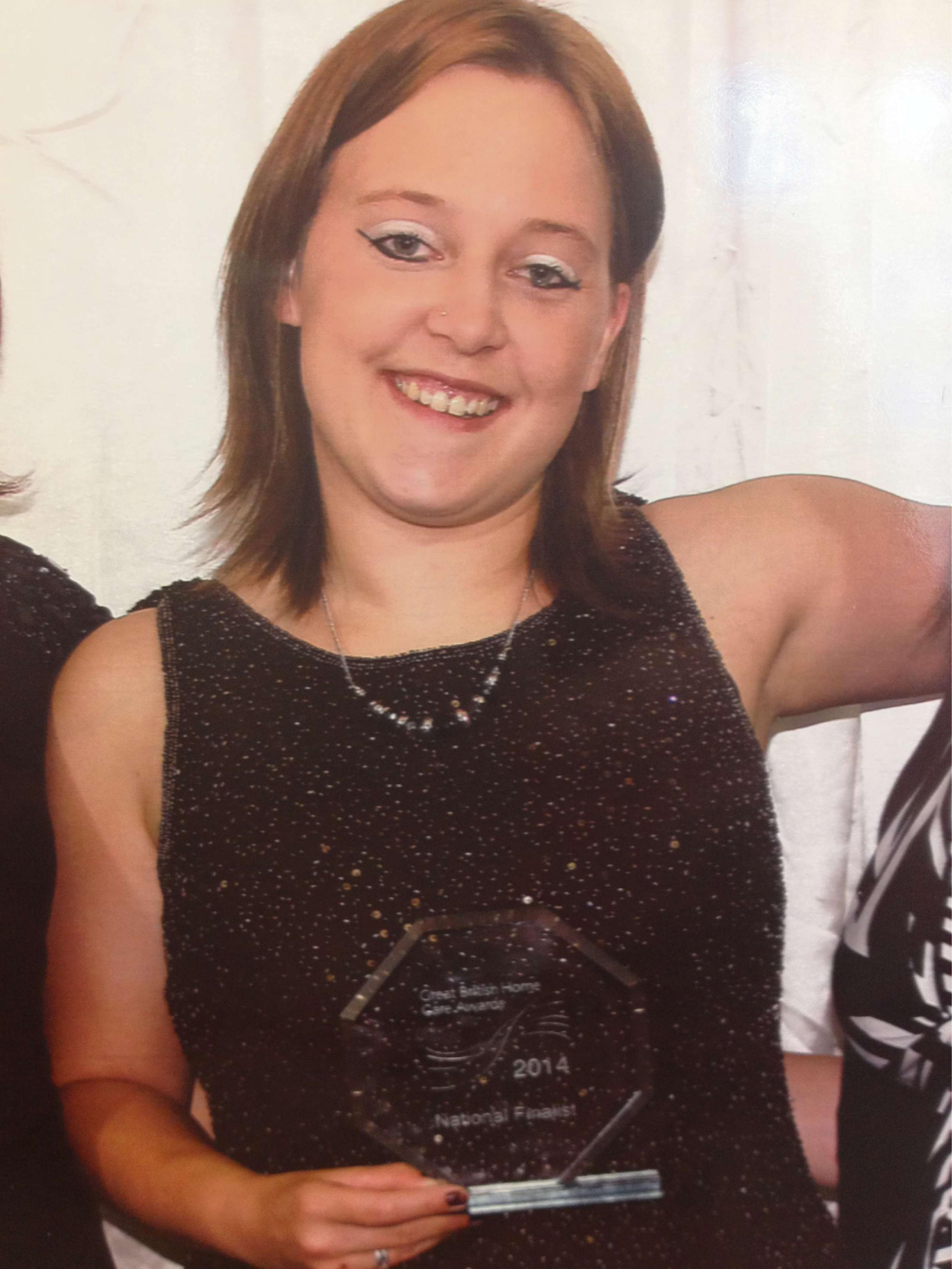Herefordshire carer scoops runner-up prize at National Home Care Awards