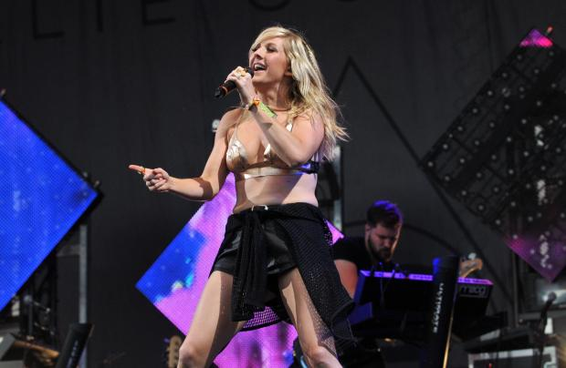 Ellie Goulding performing at Glastonbury.Photo: Getty Images.