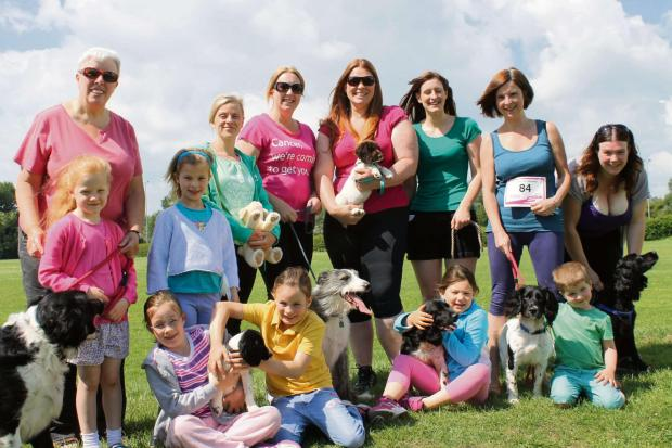 The Moclair Muckers will be running the Race for Life in memory of Lorraine Muckler.