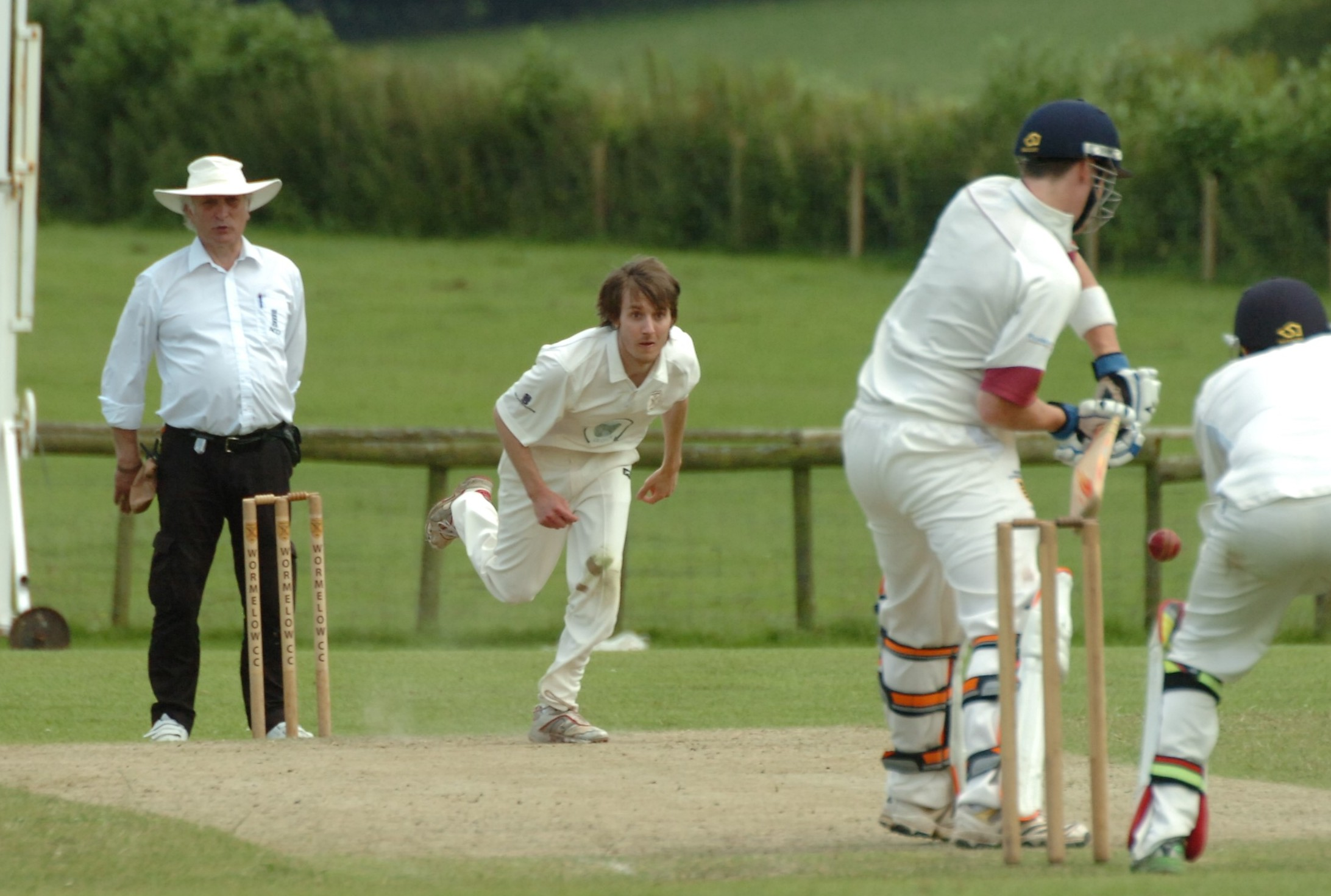 Burghill ease past Wormelow to keep up promotion bid