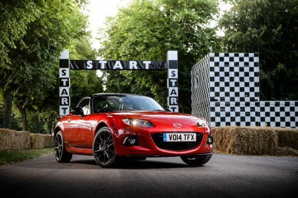 Mazda on show for its 25th anniversary