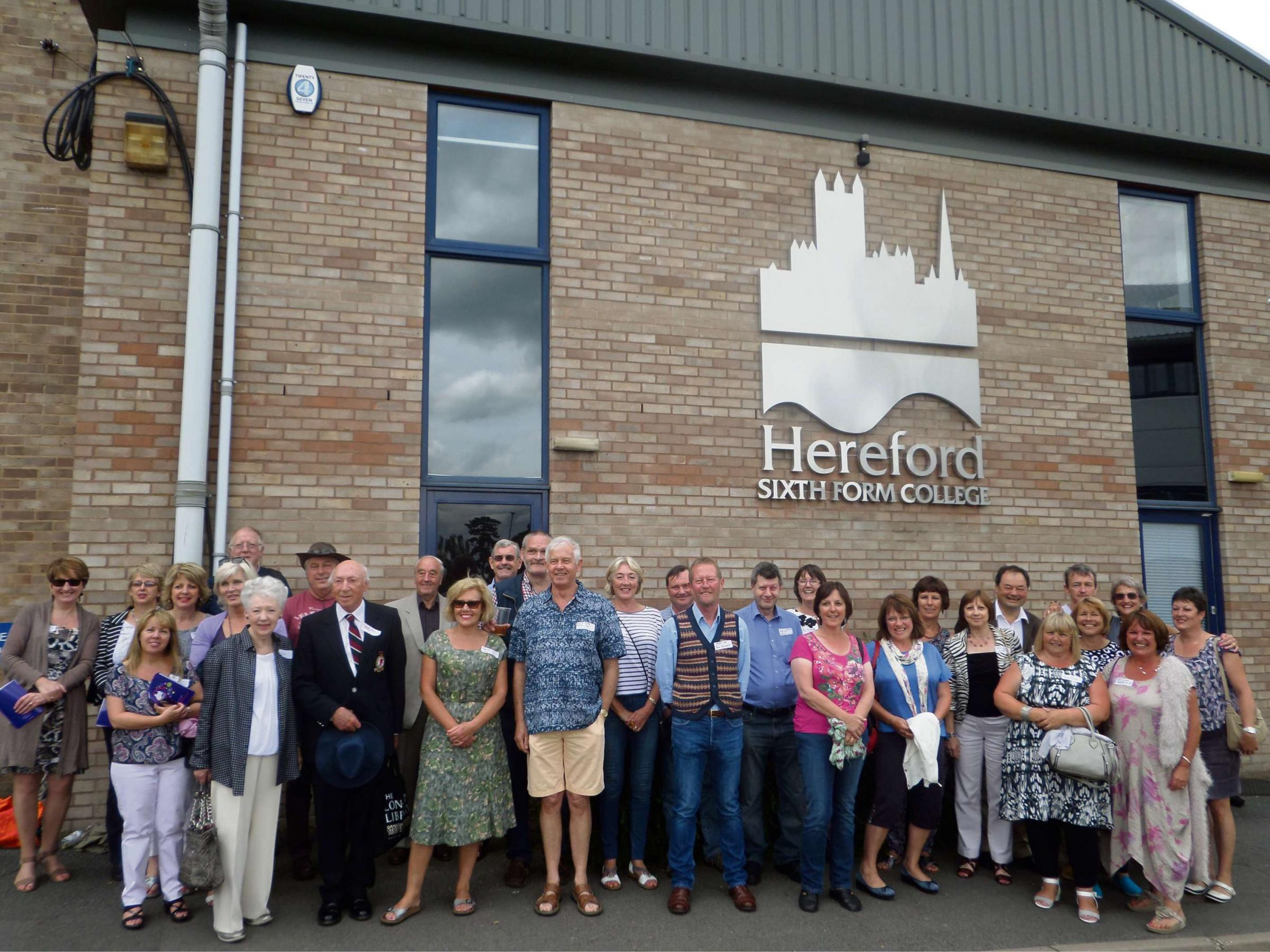 Hereford Sixth Form College celebrates 40th anniversary