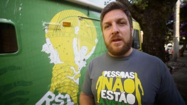 David Darg has been trying to tackle sex exploitation in Brazil during the World Cup.