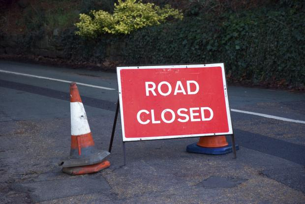 Roadworks will be taking place between the Callow and Redhill next week.
