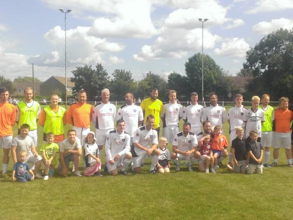 More than 800 fans watch Hereford United Supporters Trust team this afternoon at Malvern Town
