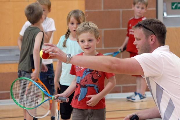 Kington Tennis Club has organised indoor mini tennis and teen tennis sessions with £471 in funding from the Kingspan Insulation Community Trust.
