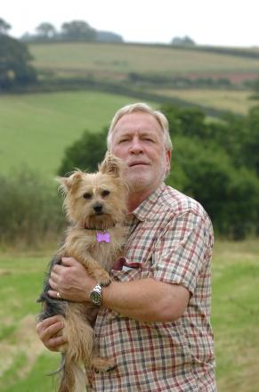 Dog behaviourist Charles Ross-Robertson is holding a surgery at Risbury Village Hall. 1428_6001Photo: James Maggs.
