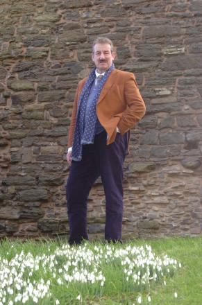 John Challis will open the refurbished Annetts store in Hereford on Saturday. 1406_8001