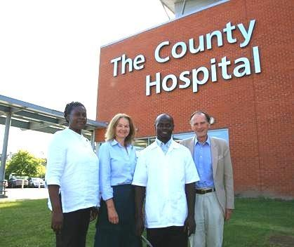 Tanzanian doctors to visit Hereford hospital