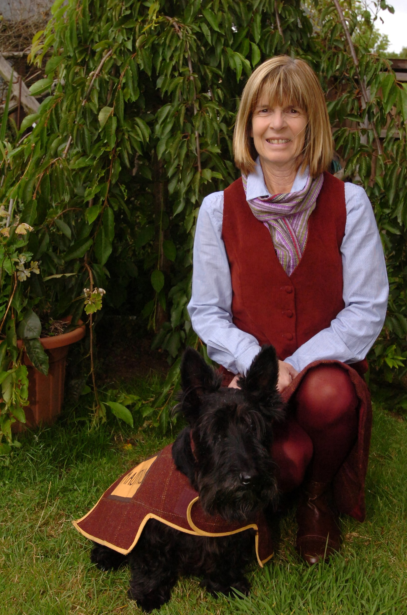 Star turn for Hereford Scottie dog