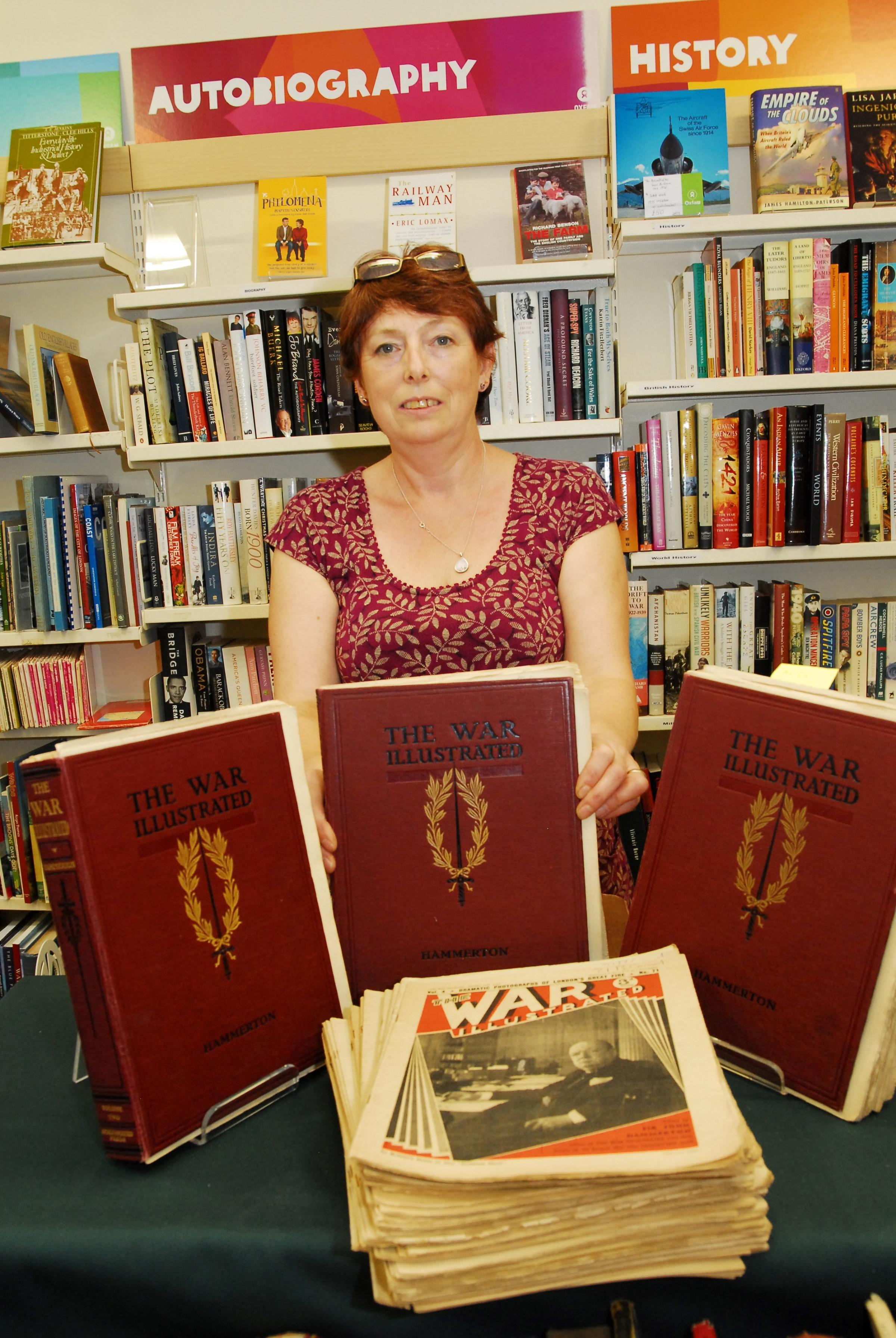 Rare WW1 magazines handed in at Hereford charity shop