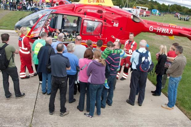 Midlands Air Ambulance charity open day.