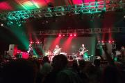 Mystery Jets took the headline spot at Rock the Farm festival on Sunday.