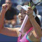 Hereford Times: Peng Shuai reached her first grand slam semi-final at the 37th attempt (AP)