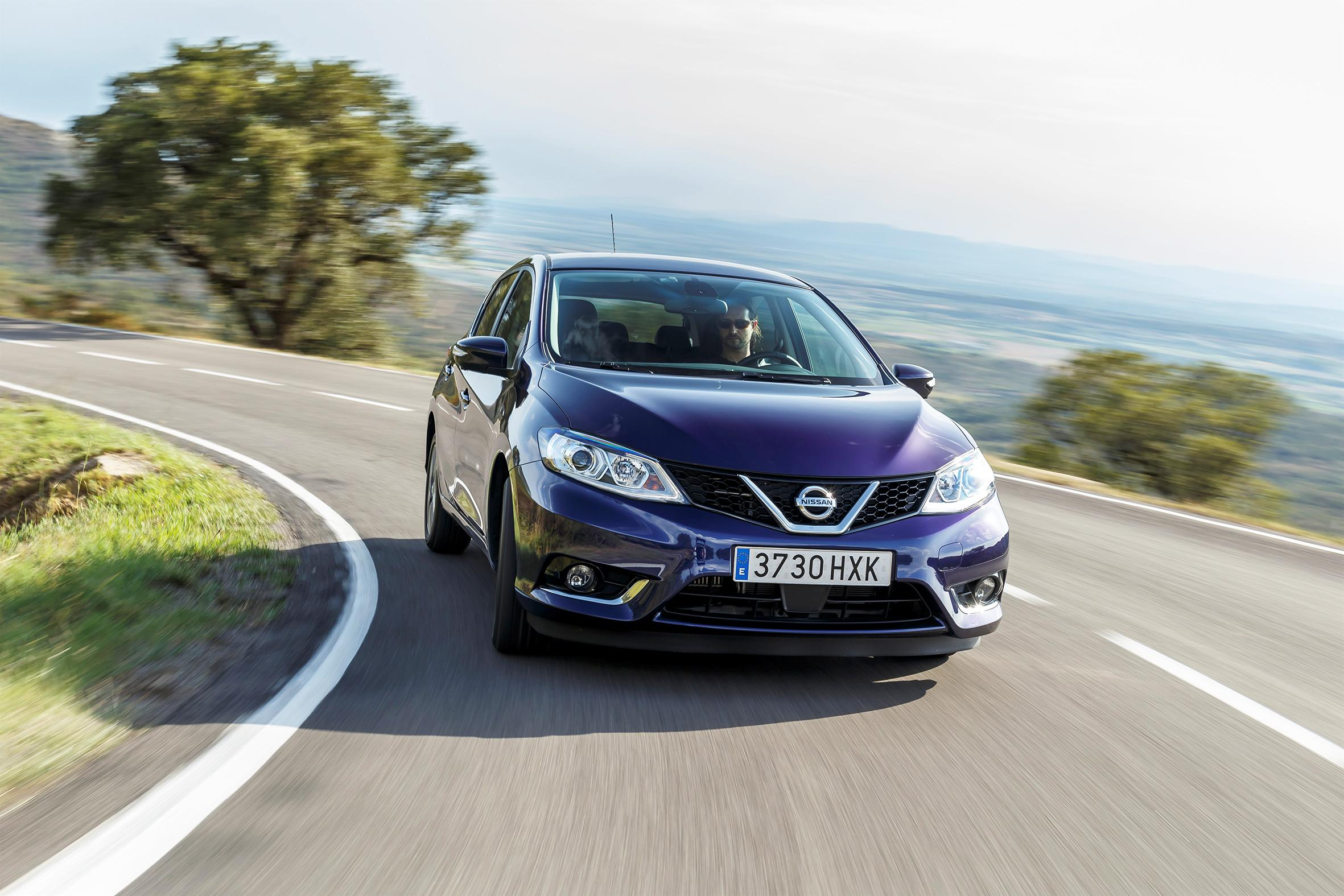 Plenty of space in the new Nissan Pulsar