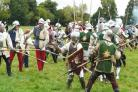 Re-enactors from across the country return to Herefordshire to turn back the clock to the Battle of Mortimer's Cross each year.