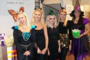 Staff in the Hereford jewellery store Henryka got into the Hallowe'en spirit