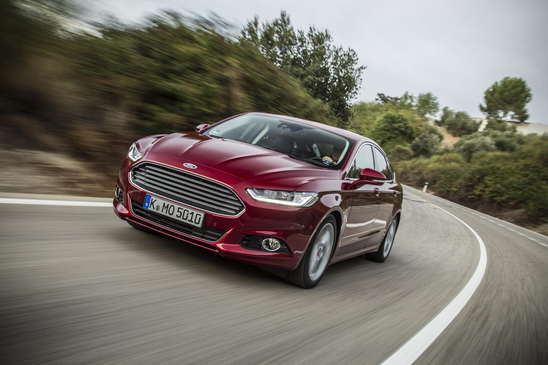 Comfort and economy - the new Ford Mondeo.