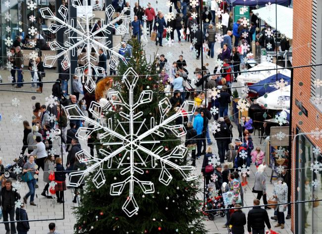 Hereford could be a national shopping destination by next Christmas.