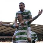 Hereford Times: Celtic's Leigh Griffiths celebrates his goal