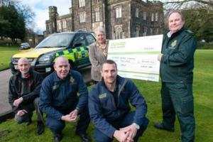 Cash granted to community life savers
