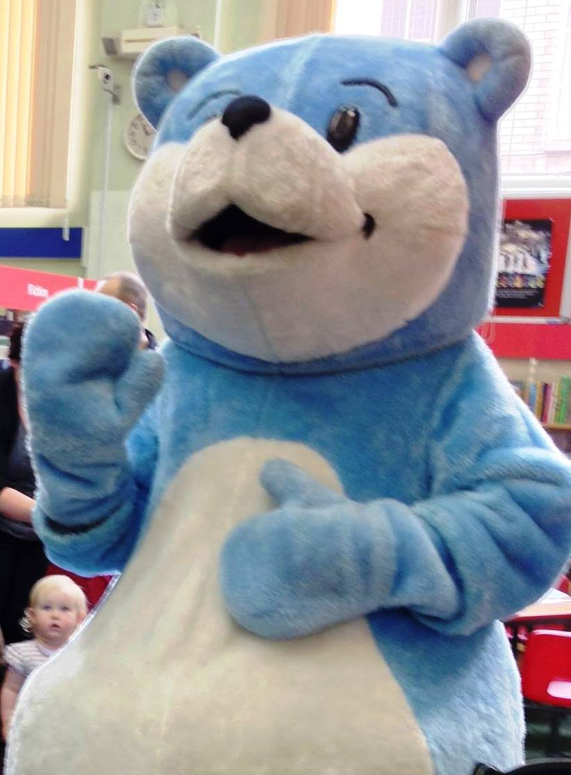 The Book Start bear will be on hand to encourage young readers