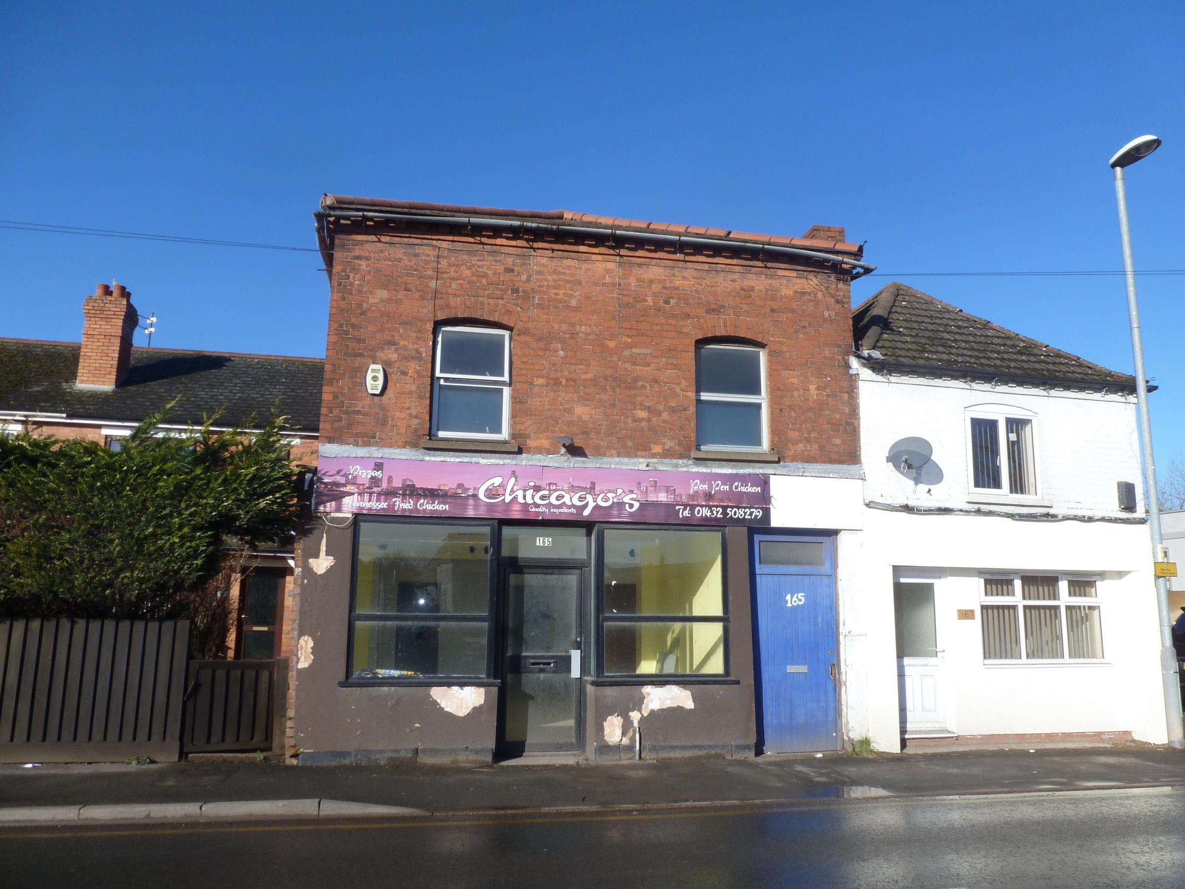 Retail shop with living space up for auction hereford times for Shop with living space