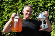 Mike Henney from Henney's Cider Co in Bishop's Frome which won the overall champion at the international cider competition