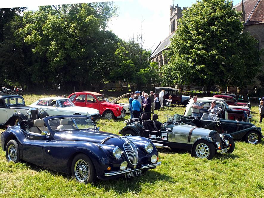 Old classics turn out at Madley | Hereford Times