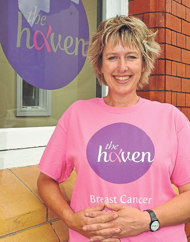 Haven fund-raising manager Frankie Devereux says 'every penny counts' for the county's vital breast cancer service