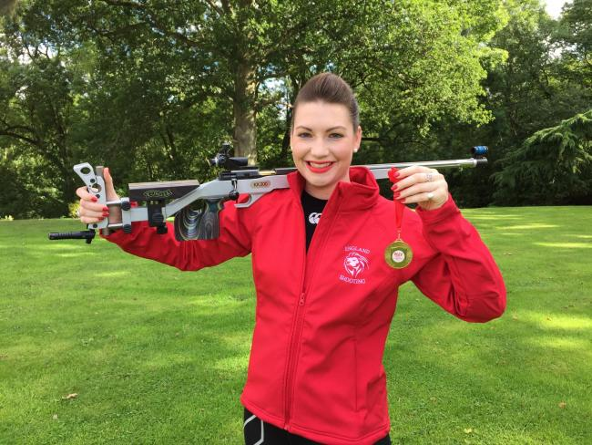 a41286afd0 Zara Roberts is on course to represent Team England at the Commonwealth  Gamesin 2018
