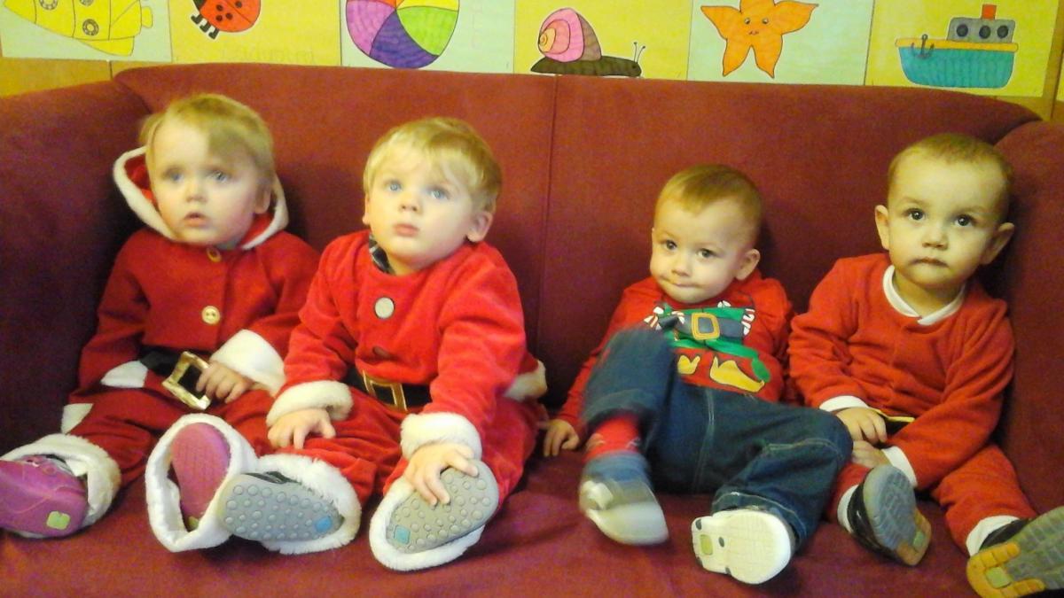 Father Christmas At Ledbury S Playstation Nursery