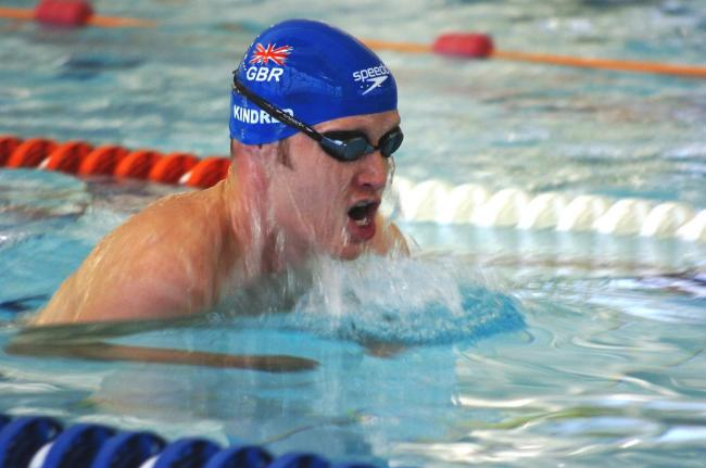 Sascha Kindred will not compete at the IPC Swimming European Championships in Madeira