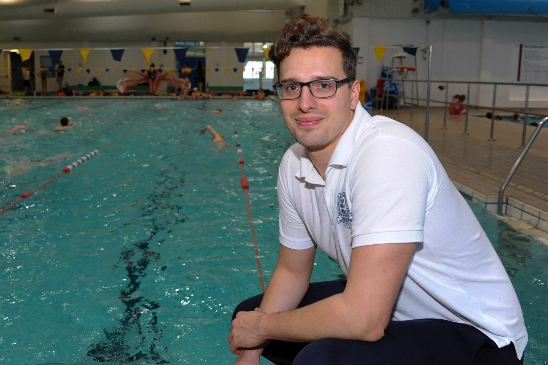 City of Hereford Swimming Club head coach John Sargent