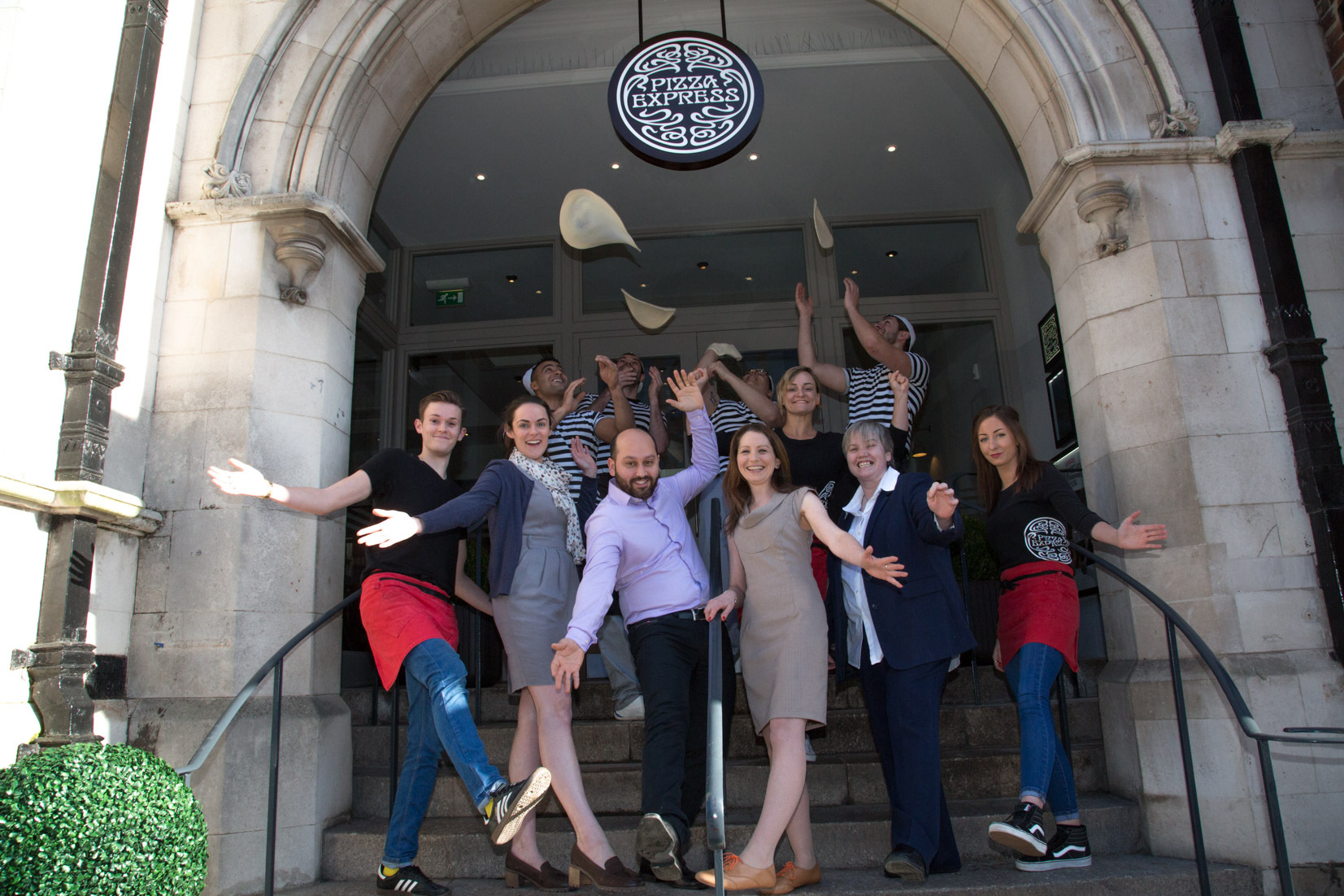 Pizza Chain Reopens After Refurbishment Hereford Times