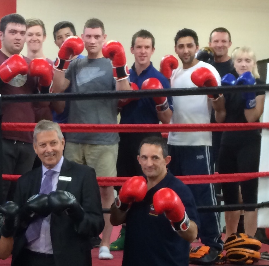 South Wye Police Boxing Club accreditation