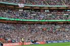 Around 20,000 fans supported Hereford at Wembley
