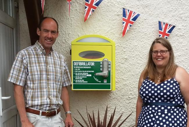 Lottery funding for public access defibrillator