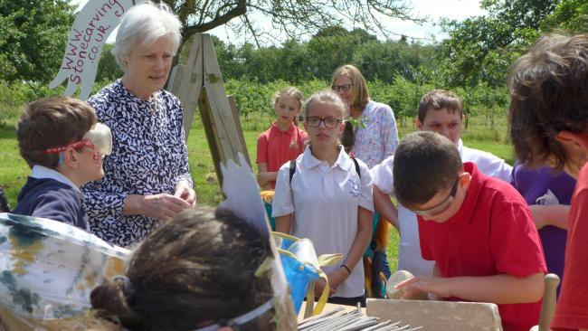 Lady Darnley and the children enjoy lots of activities during the day