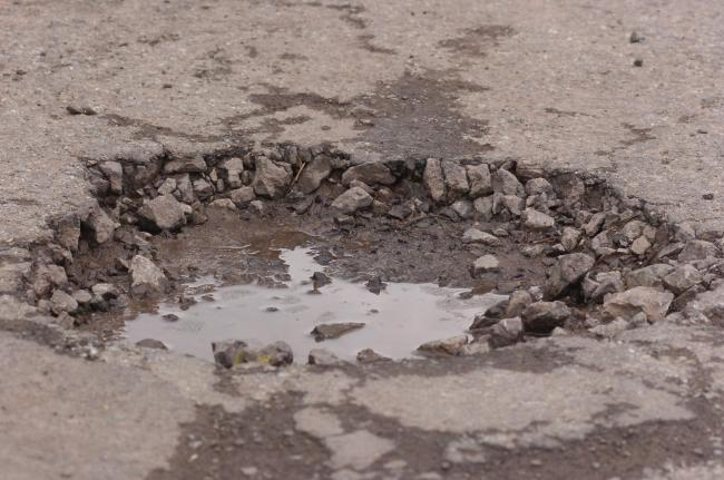 Potholes cost the council thousands in compensation