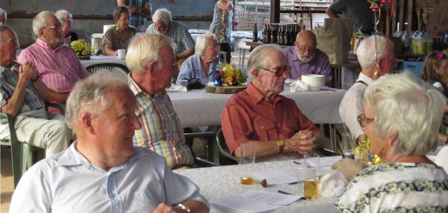 Hereford St Ethelbert Probus Club recently celebrated the life of Michael Morris