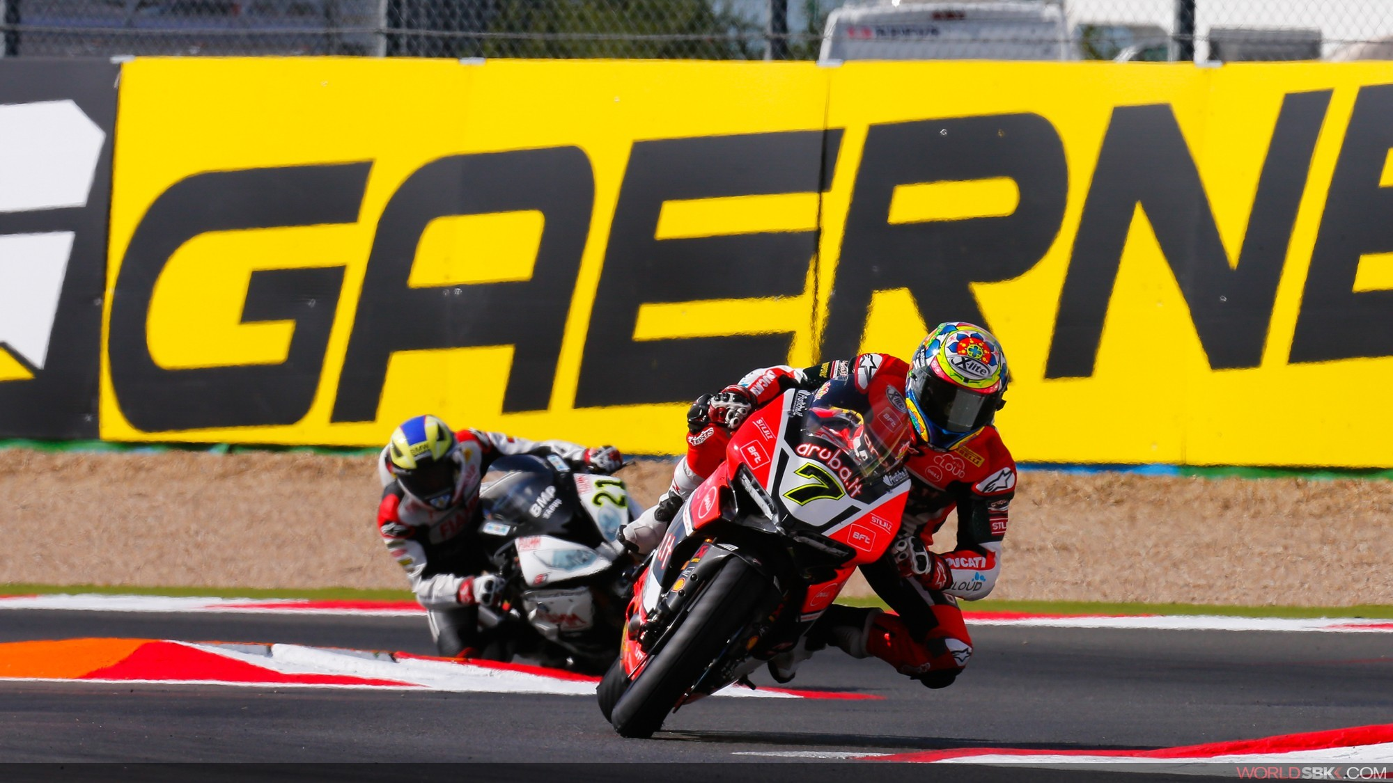 Chaz Davies will be racing in Thailand this weekend. Photo: worldSBK.com