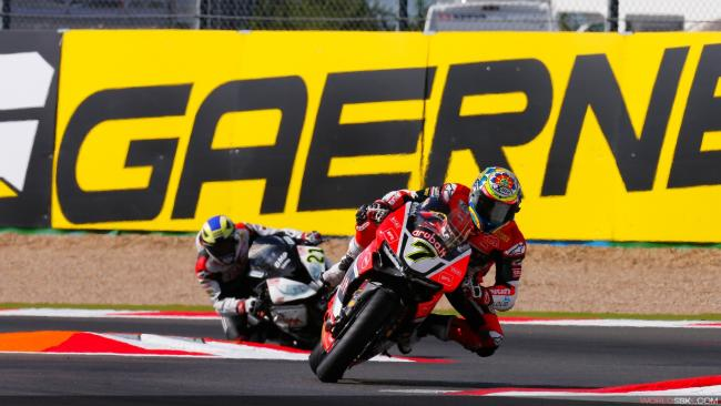 Chaz Davies finished second in the World Superbikes Championship standings. Photo: worldsbk.com.