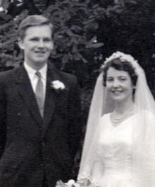 John and Rita nee Hiles Scragg