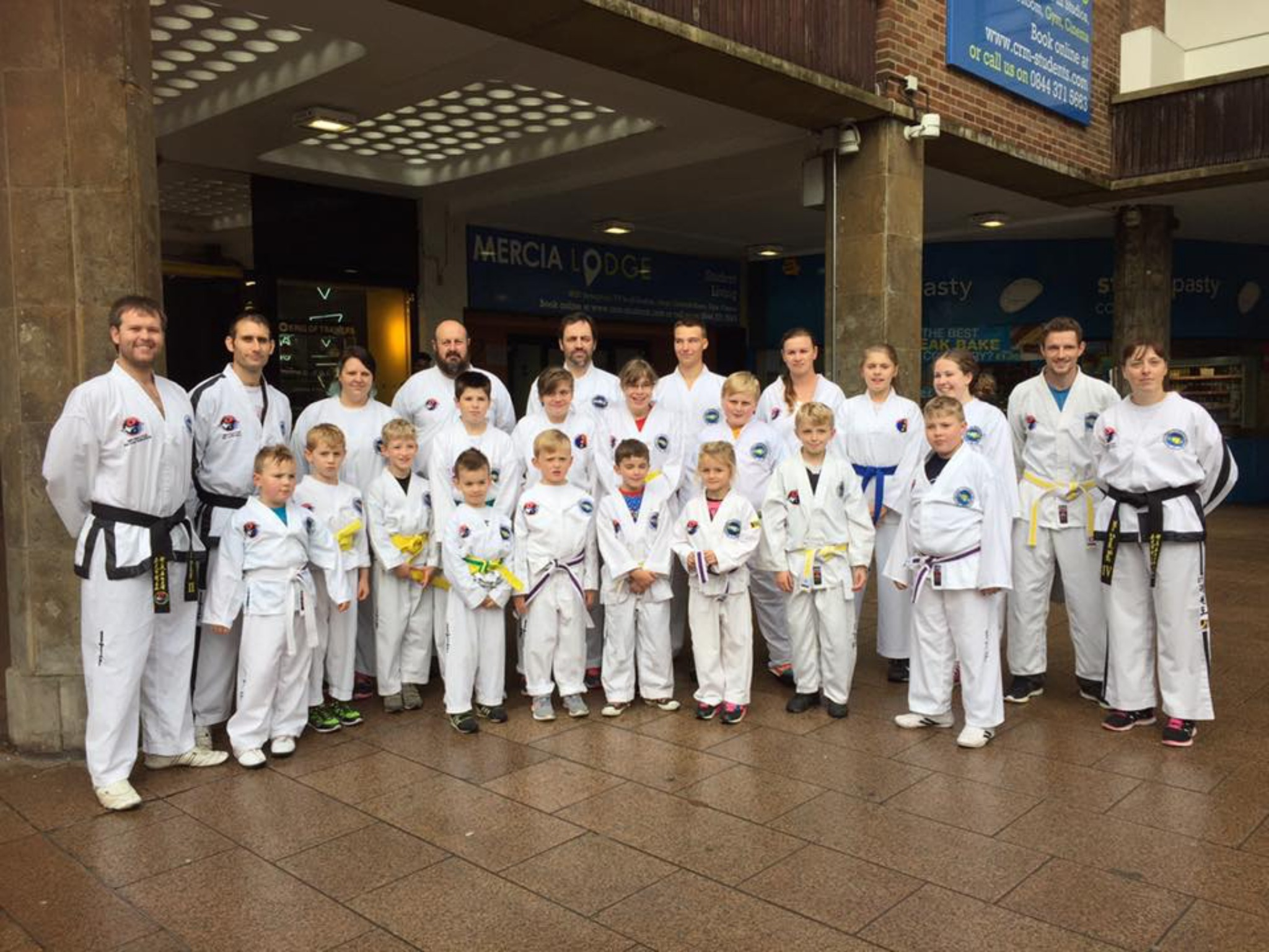Hall Family Taekwondo helped create a new Guinness World Record